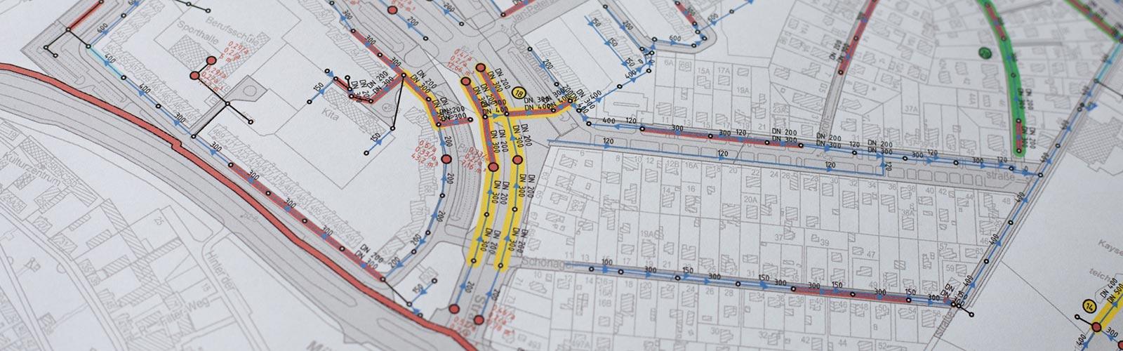 Generelle Planung Kanalisation