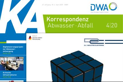 Korrespondenz Abwasser 04/2020 Titelseite
